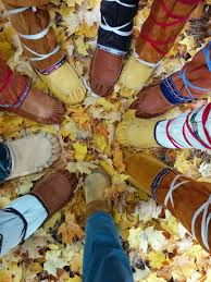 moccasins hide upper lure of the north
