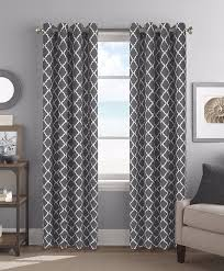 amazon com colordrift camden teal curtain with grommet finish 2pk