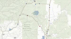 Crater Lake Oregon Map by Highway 62 Closed Near Crater Lake U2013 Kobi Tv Nbc5 Koti Tv Nbc2