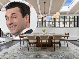 celebrity homes latest celebrity real estate news want to live in jon hamm s manhattan penthouse