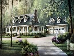 Farmhouse Plans Wrap Around Porch by Country House Designs Home Design Ideas