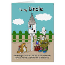 funny uncle birthday greeting cards zazzle