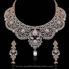jewelry gold diamond necklace images Diamond necklace designs white house designs jpg