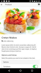 appli cuisine android restaurant ionic 3 application with firebase backend by appseed
