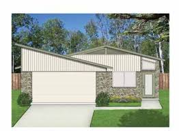atomic ranch house plans aatomic ranch elevation hwbdo69142
