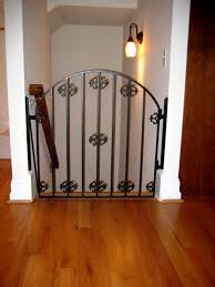 Baby Gate For Banister Stairs Child Safety Gate At Top Of Stairs Forged Iron Designs By