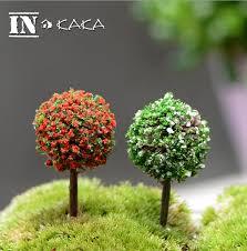 aliexpress buy 5pcs mini artificial trees crafts micro