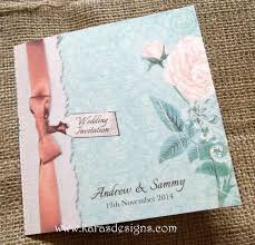 folded wedding invitations by kara u0027s designs kara u0027s designs