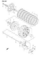 2005 suzuki v strom 650 dl650 clutch parts best oem clutch parts