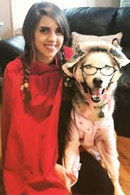red cape spirit halloween 53 funny dog halloween costumes cute ideas for pet costumes