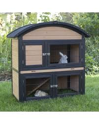 3 Storey Rabbit Hutch Amazing Deal On Boomer U0026 George 2 Story Rabbit Hutch With Rounded Roof