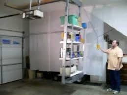 Garage Ceiling Storage Systems by Storagetrey For Overhead Garage Storage Featuring Unique Self