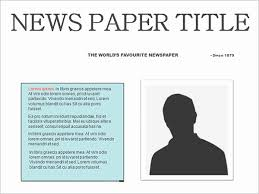 newspaper theme for ppt 45 elegant collection of newspaper template powerpoint reference