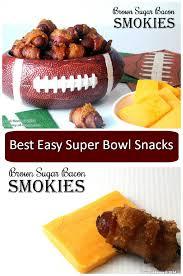 super bowl appetizers brown sugar bacon smokies recipe easy super bowl snacks