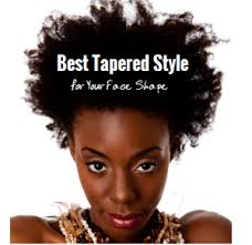 oval face with tapered afro haircut best tapered style for your face shape