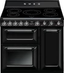 Smeg Induction Cooktops Buy Smeg Victoria Tr93ibl 90cm Electric Range Cooker Tr93ibl
