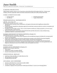 Sample Accounting Resume Objective by Download The Objective On A Resume Haadyaooverbayresort Com