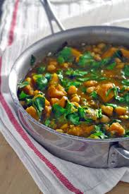 Butternut Squash And White Bean Soup Spicy Moroccan Butternut Squash Chickpea And Spinach Stew Bowl