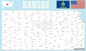 map of counties in kansas a large and detailed map of the state of kansas withh all counties