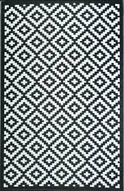 Black And White Outdoor Rug Black And White Striped Outdoor Rug The Ticking Stripe Indoor