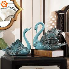 Creative Home Decor by Online Get Cheap Swan Ornament Aliexpress Com Alibaba Group