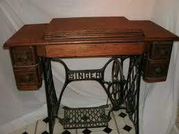Vintage Singer Sewing Machine Cabinet Antique 1910 Singer Treadle Sewing Machine By Antique Sewing