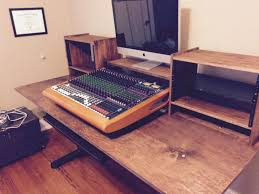 Studio Desk Diy Ikea Music Studio Desk Setting Up Home Time Lapse Youtube Diy
