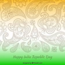 ornaments india republic day vector free