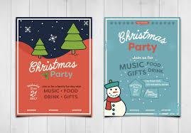 cute christmas invitations templates creative market