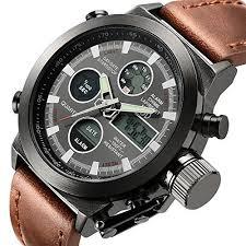 amazon black friday specials on seiko mens watches tamlee fashion leather men u0027s military watches multifuncti http