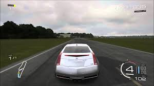 top gear cadillac cts v forza 5 2011 cadillac cts v coupe on top gear gameplay
