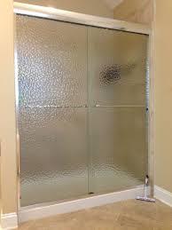 modren frosted shower doors glass pattern f for design inspiration