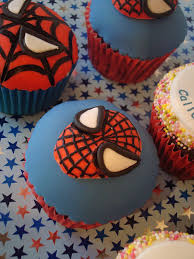spider man cupcake pics best birthday cakes