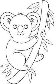koala bear coloring page koala clip art coloring pages coloring page for kids kids coloring