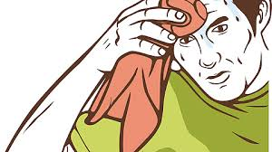 Sweating Guy Meme - vectorized sweating towel guy imgur