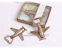 wedding bottle openers aliexpress buy 50pcs air plane can bottle opener
