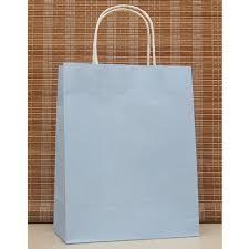 blue gift bags 10pcs lot light blue paper bag 27x21x11cm recyclable gift boutique