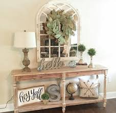 entry way table ideas farmhouse style entryway decoration pinterest farmhouse