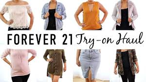 misses clothing forever 21 fall clothing haul hits and misses