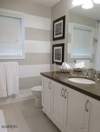 Striped Bathroom Walls Simple Details For A Statement Bath Mat The Bathroom Pinterest
