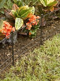 garden edging fence garden border fence josaelcom garden border