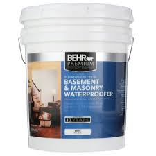 home depot 5 gallon interior paint behr premium 5 gal basement and masonry interior exterior