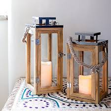 outdoor table ls battery operated amazon com regular wooden battery operated led flameless candle