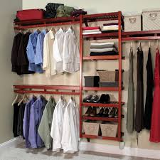 amazon com john louis home standard closet shelving system red