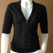 merona sweater merona bundled merona black 3 4 sleeve cardigan from cathie s