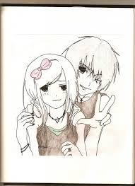 cute cartoon couples drawing cute love drawings cute emo