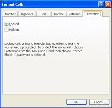 hiding and protecting columns microsoft excel