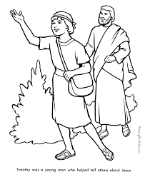 christian coloring pages for preschoolers timothy bible coloring page to print 021