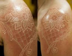7 best white ink tattoos images on pinterest tattoo photos