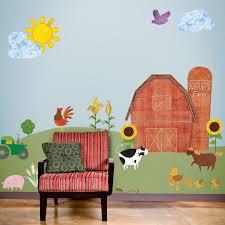 theme wall best 25 farm wall stickers ideas on jungle wall